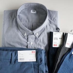 3月31日まで使えるユニクロの1,000円割引券を使って夫の服を買いました