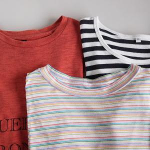 今日の断捨離 Tシャツ3枚