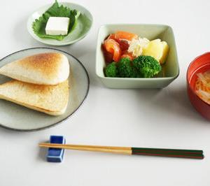 【ひとりごはん】天然酵母パンとサラダとスープ