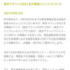 【やるのか】一か月後はどっちだ?東京マラソン2021【やらないのか】