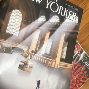 The New Yokerの表紙のイラストが素敵 【購読がおすすめ!】
