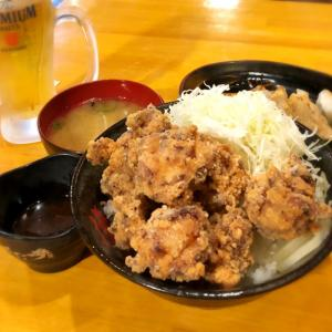 「大阪」伝説のすた丼屋で唐揚げ丼