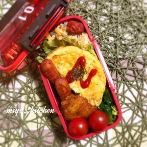梅ジャコ炒飯のお弁当