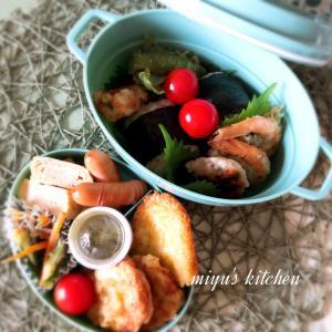 天ぷら三昧のお弁当