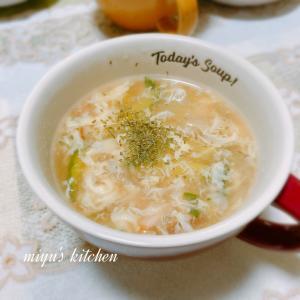 給食みたいなスープときちんと箸
