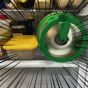 ままままっ!また冷蔵庫のスペースを.