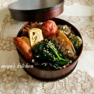焼き鯖のお弁当