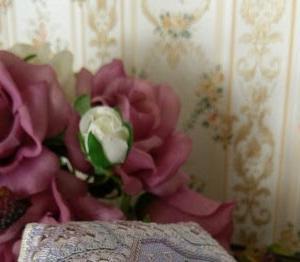 ハーダンガー刺繍の新作とブログ移転作業