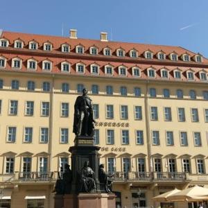 ドレスデンでのホテルとドイツ連邦軍軍事博物館