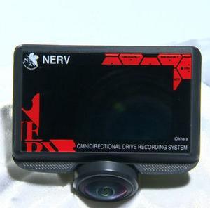 エヴァンゲリオン ドライブレコーダー(NERV購買部第4BS出張所オリジナル)