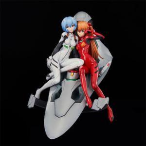 貞本エヴァ13巻PM限定版表紙のレイとアスカのフィギュアが発売 限定カラー版も