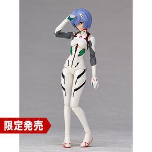 『シンエヴァ アヤナミレイ(仮称) プラグスーツが白色に変化した姿』可動フィギュア発売 リボルテック