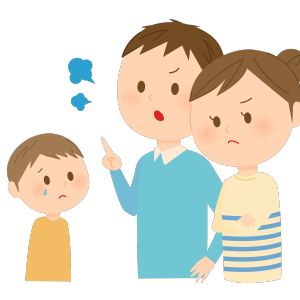 子どもの自信をなくす叱り方
