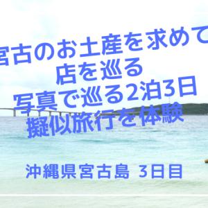 沖縄県宮古島 宮古のお土産を求めて店を巡る 写真で巡る2泊3日擬似旅行を体験 3日目最終日