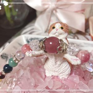 石と宝石とミントの寝顔