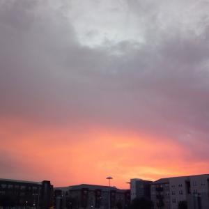 Austin Sunset, Atardecer Austin, オースティンの夕日