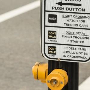 Traffic Light does't turn into WALK, Semafólo no se pone WALK、信号が青に変わらない I will follow you