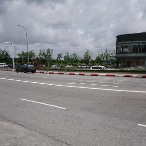 ヤンゴンを走れ、grab taxi!