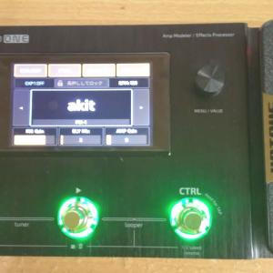AMPERO ONEの液晶ディスプレイが修理されて返ってきた!