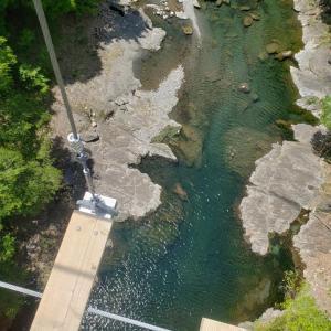 令和最初のお出かけ!日本一怖い橋へ行きました!(大滝汗)