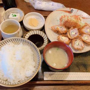 食事処モンテ【大分県大分市 / 鳥のチーズカツ定食】
