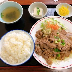 光華園【大分県大分市 / 生姜焼定食】