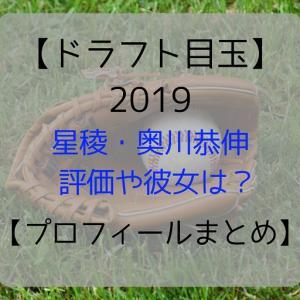 【ドラフト目玉 2019】星稜・奥川恭伸の評価や彼女は?【プロフィールまとめ】