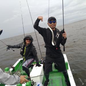 新舞子沖にタチウオ釣りに行くも不発、しかしセントレアのマゴチ復活?【2020年9月13日釣行記】