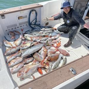 福井県敦賀沖 乗っ込みの真鯛をタイラバで釣る【2021年4月11日釣行記】