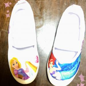 上靴*プリンセスデコパージュ