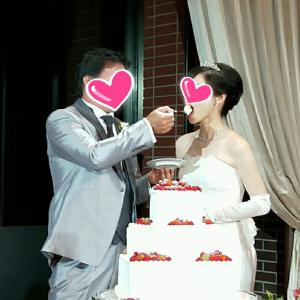 アラフィフの・・素敵な結婚式に参列してきました♡