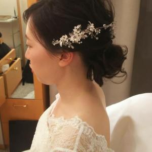 結婚式のリハーサルで・・・