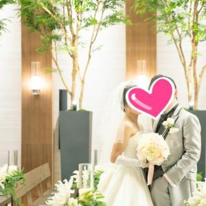 卒業生の結婚式♡