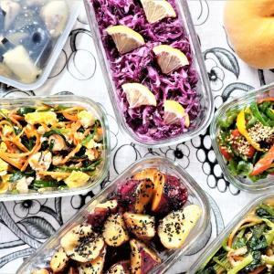 繰り返し使えてエコ!進化系食品保存容器で超時短常備菜作り♪