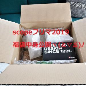 【スコープフリマ2019】数量限定福袋届きました!豪華中身公開~ヾ(≧▽≦)ノ