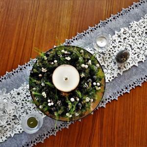 【ニトリ】おすすめクリスマスグッズ!素敵なテーブルランナー発見♪