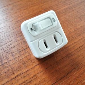 抜き差し不要で簡単エコ♪100均節電タップで待機電力カット生活♪