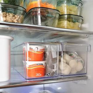 ニトリの冷蔵庫整理トレーで食材の見える化!庫内のスペース有効活用♪