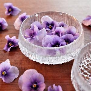 インテリアにもなる♪エディブルフラワー(食べられる花)の楽しみ方♪