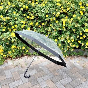【3COINS】おしゃれなビニール傘見つけた!パイピングが大人っぽい!