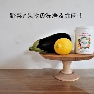 【楽天PR】野菜の農薬&除菌どうしてる?国産の洗浄パウダーがおすすめ!