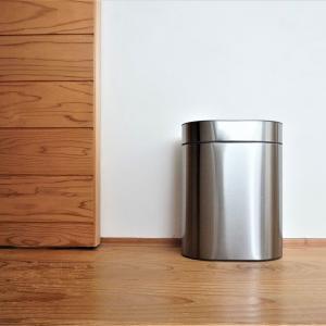 【IKEA】ステンレスの高級感!タッチ式ゴミ箱「BROGRUND」♪