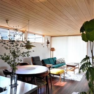 【リビング全景】2020年8月の北欧インテリア&「家事貯金」の取材の日