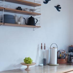 【北欧インテリア】キッチン秋の模様替え♪フルーツの見せる収納法~♪