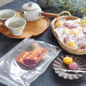 【カルディ】秋におすすめのお菓子♪紫芋とかぼちゃのおもちがうまし♡