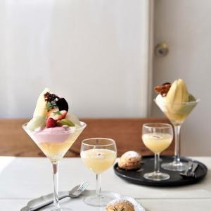 【カフェ巡り】名古屋のおしゃれカフェ「夏空」さん♪洋ナシパフェを堪能♪