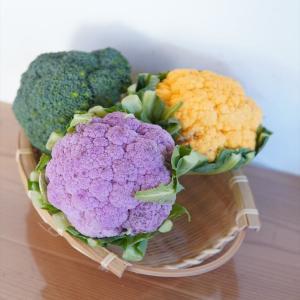 カラフルカリフラワー!?食卓が華やかになる「映え」野菜見つけた♪