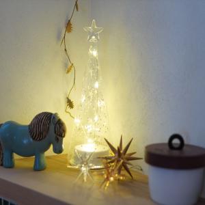 fog linen workの真鍮製クリスマスガーランドが素敵☆洗面所を模様替え♪