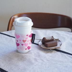 【スタバ】バレンタインデー限定 (♡ω♡*) リユーザブルカップでおうちカフェ~♪