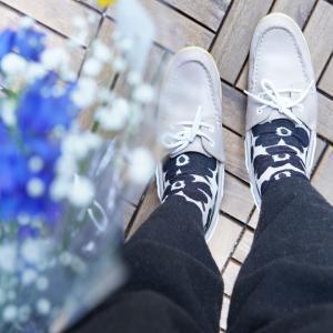 【マリメッコ】足元に春が来た~♪日替わりマリメッコ靴下コレクション(´ω`*)